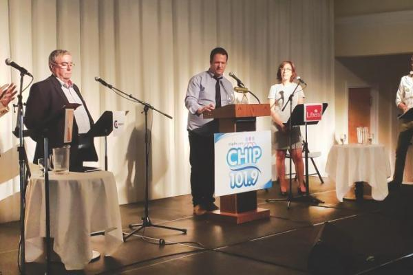 Candidates spar over economy, climate change and democracy