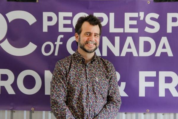 PPC candidate for the Pontiac stops in Campbell's Bay