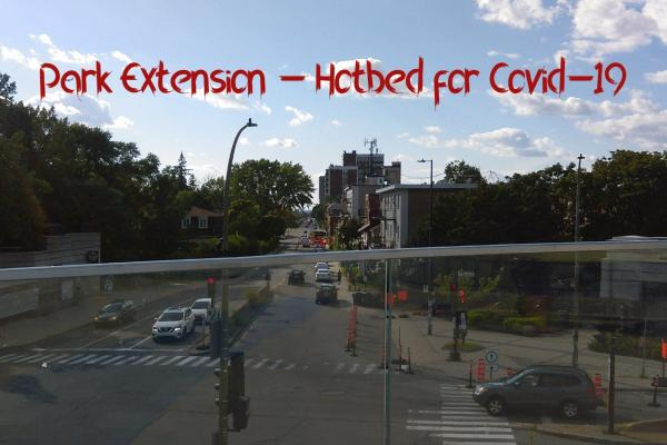 Park Extension ranked hot spot for Covid-19