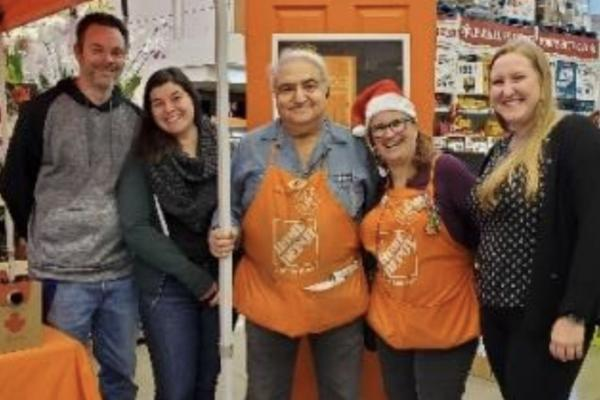 Pointe-Claire Home Depot raising funds for AMCAL