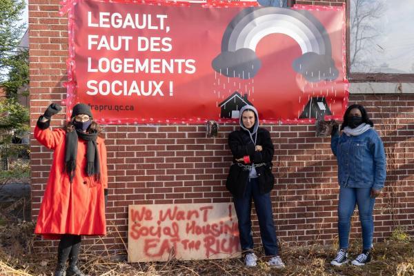 The Comité d'Action de Parc-Extension's call for more Social Housing
