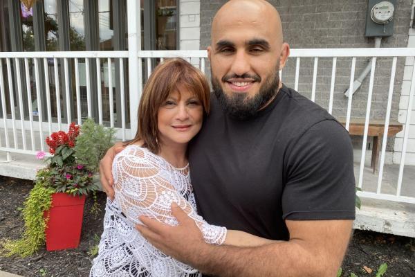 West Islanders adopt Iranian world champion refugee wrestler