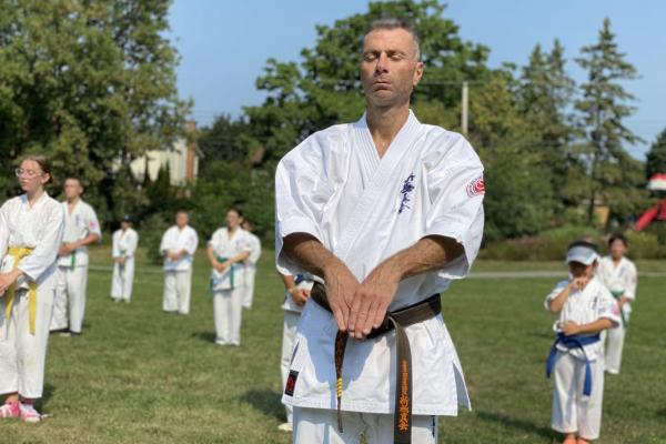 Tony Di Gennaro commemorated by West Island Karate