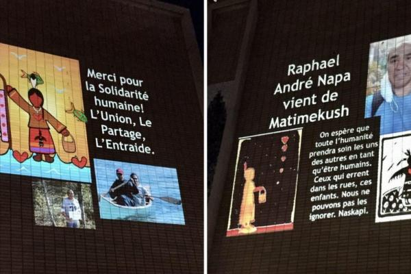 A three-day tribute to Raphaël Napa André is happening at the Open Door shelter