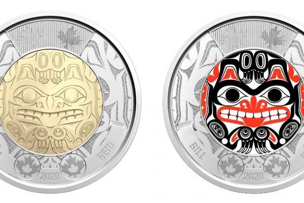 New toonie commemorates Indigenous artist Bill Reid