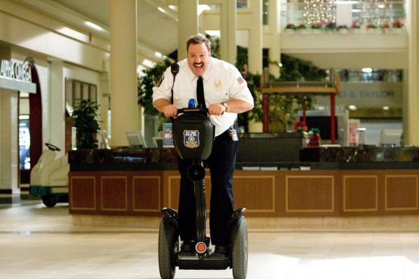 Paul Blart running amok: The invasion of the electric wheeled things