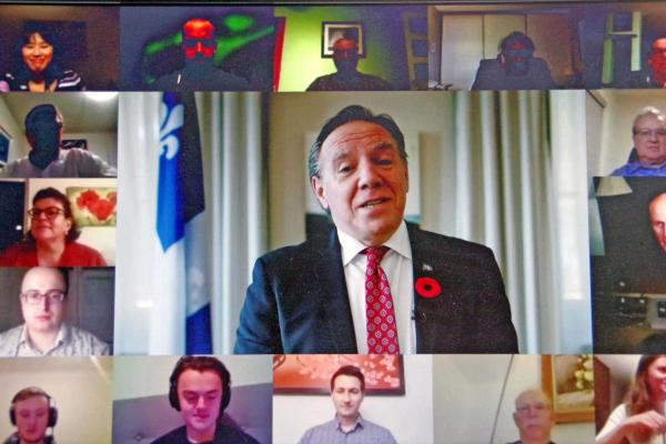 Legault is optimistic about Quebec's post-pandemic economy