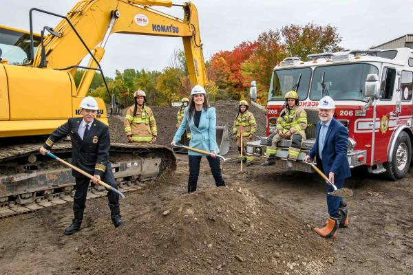 Construction starts on Laval's Firehall Six