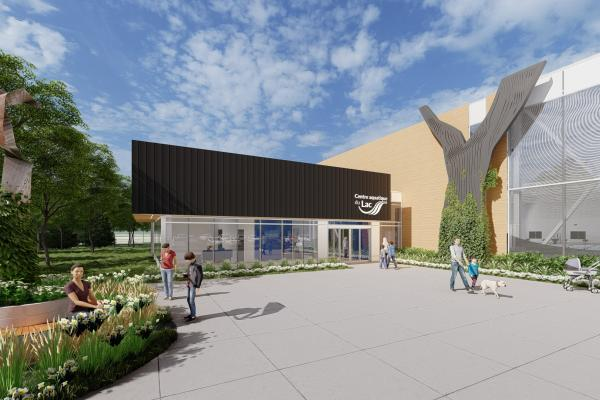 The  Centre aquatique du Lac will finally see the light of day