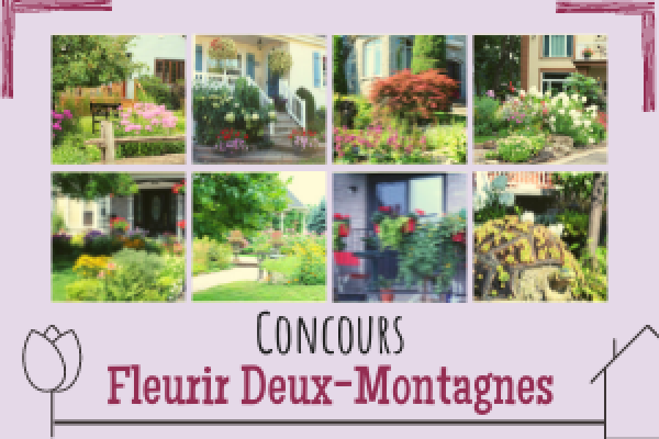 A flowery contest in Deux-Montagnes