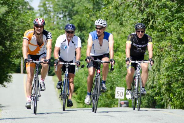 Sherbrooke cyclists challenged to push their limits