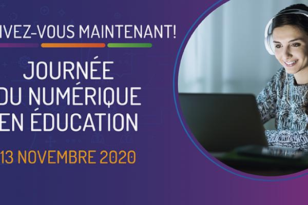 Journée du numérique en éducation 2020
