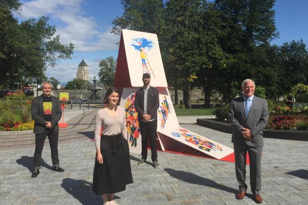 'Sommet de la montagne' unveiled on Parliament Hill