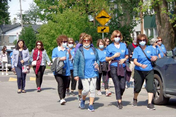 FILIA Association for Seniors holds second annual Walk A Thon in Laval
