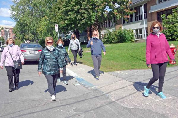 FILIA Association for Senior Citizens holds first Walk A Thon in Laval