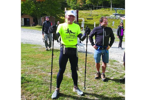 Sherbrooke resident shakes off leg injury to complete Everest challenge