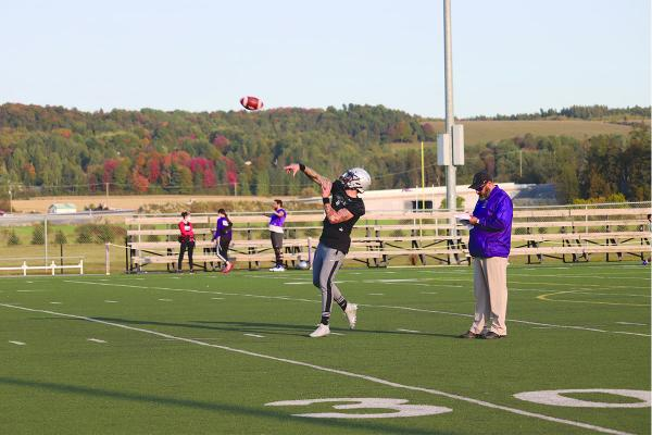 Gaiters football team finds stability and peace of mind back on the field