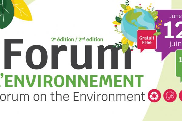 Rosemère's online Forum on the Environment