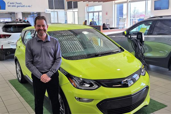 Denis Breton on the forefront of the electric car revolution