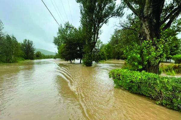 Grande-Vallée is recovering from a major flood