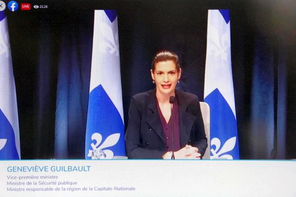 Quebec now under 30-day COVID curfew