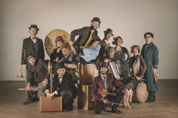 The Gypsy Kumbia Orchestra is an only-in-Montreal phenomenon