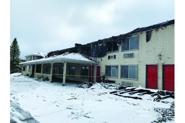Fire consumes Orford hotel overnight