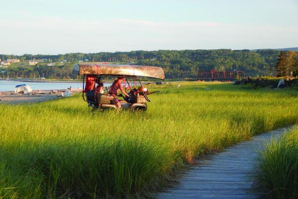 Illegal camping: Gaspé region demands action
