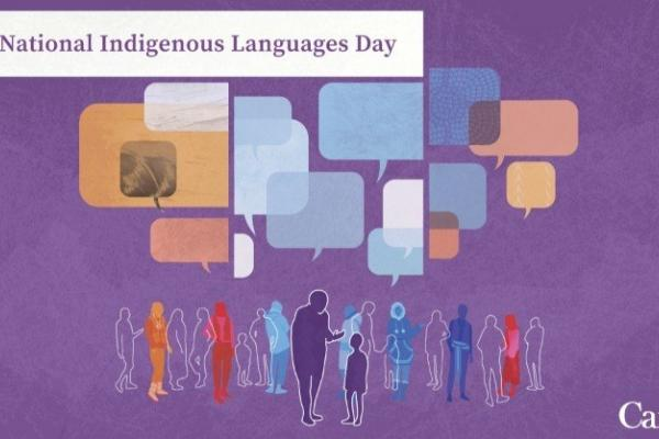 Today is National Indigenous Languages Day in Canada