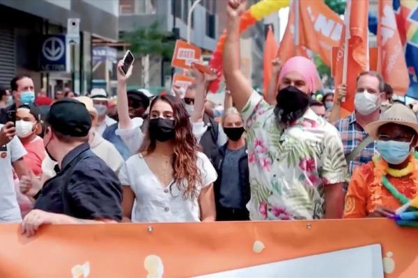 Community, politicians at forefront of Montreal Pride March 2021