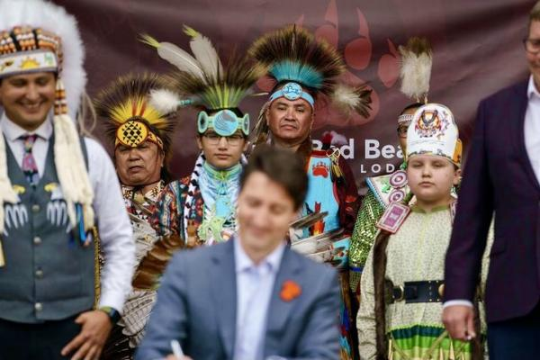 """""""Commit to making sure Indigenous rights are respected every single day"""""""