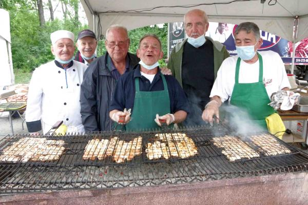 Hundreds attend a scaled-down Laval Hellenic Summer Festival