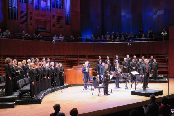 The Rhapsodes choir return to the stage in October