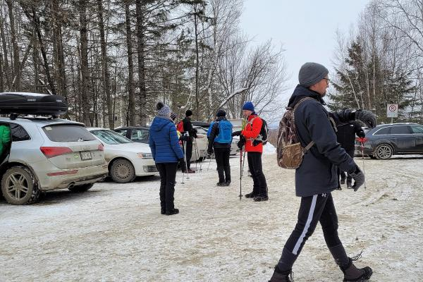Parking ticket angel helps out  Massawippi Trail users