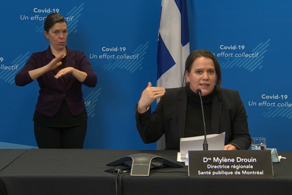 Montreal COVID-19 numbers down, homeless outbreak a concern