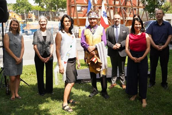 Second Native Women's Shelter breaks ground in southwest Montreal