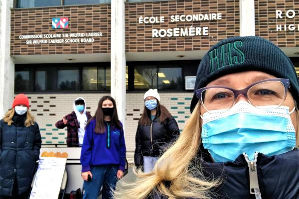 Rosemere High supports Valora, Moisson Laurentides and Make-a-Wish