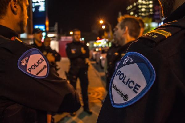 City police enforce social distancing