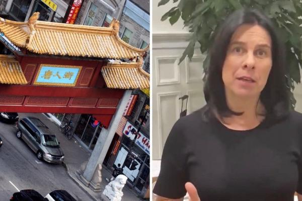 Valérie Plante addresses rise in hate crimes in Montreal's Chinatown