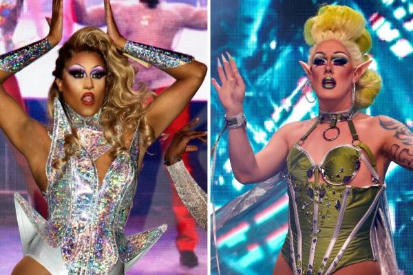 The stars of Canada's Drag Race play the Royalmount Drive-in this week