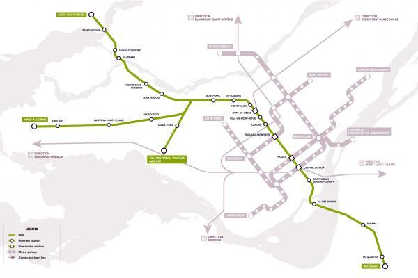 REM stations in Ste-Dorothée and Île Bigras delayed until 2024