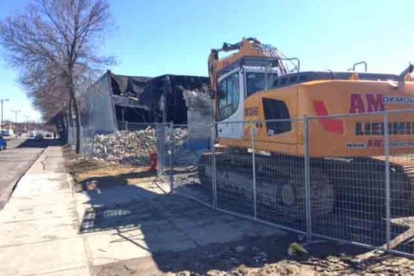 Recreatheque demolition