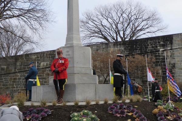 'We will remember them' at the Cross of Sacrifice