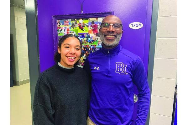 Bishop's rugby player balances family dynamics in sophomore season