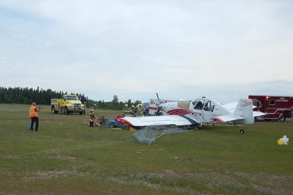 SOPFIM plane crashes in Gaspé