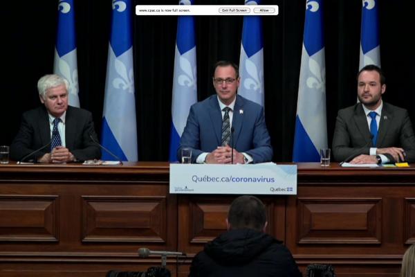 Schools reopening in Quebec