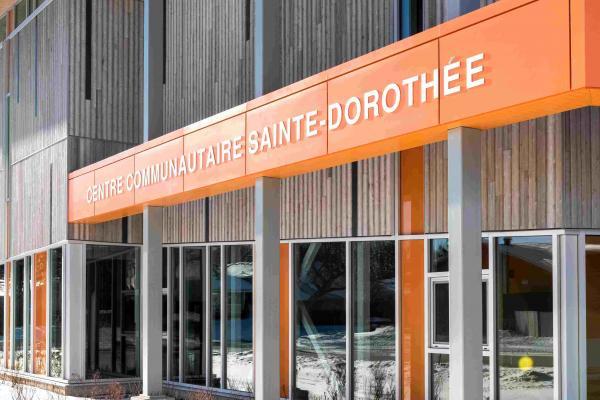 Sainte-Dorothée Community Centre certified LEED Gold