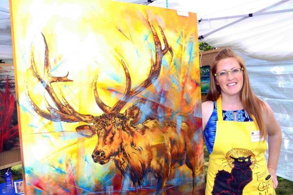 James Bay painter/artist's works showcased in Fabreville