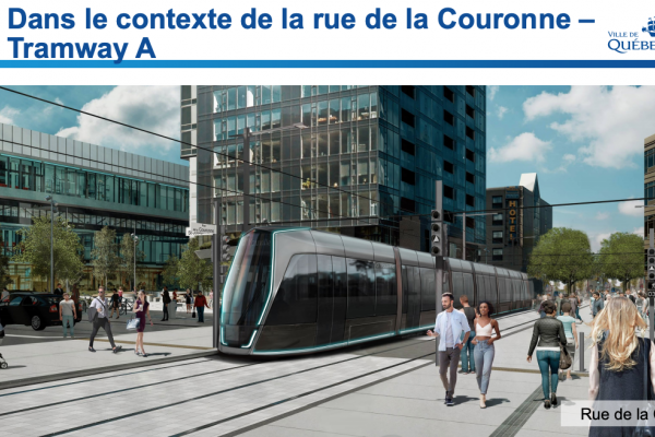 Facing opposition to project, city unveils designs for tramway cars