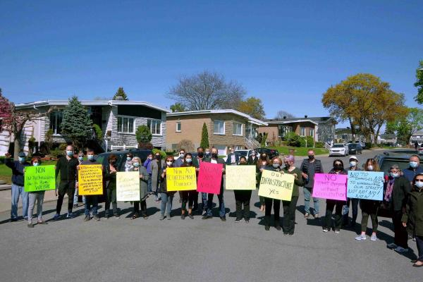 Webb Ave. residents decry city's proposed street changes